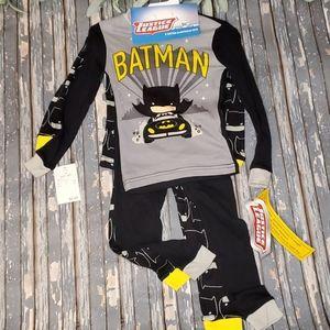 NWT - 4 Pc. Batman Sleepwear Set - Sz 3T